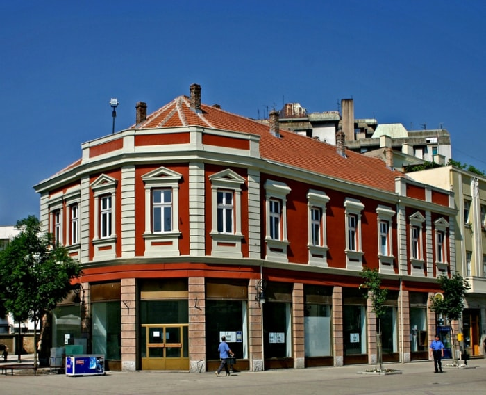 The Hotel Ninic in Smederevo