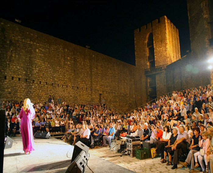 concert in Smederevo fortress