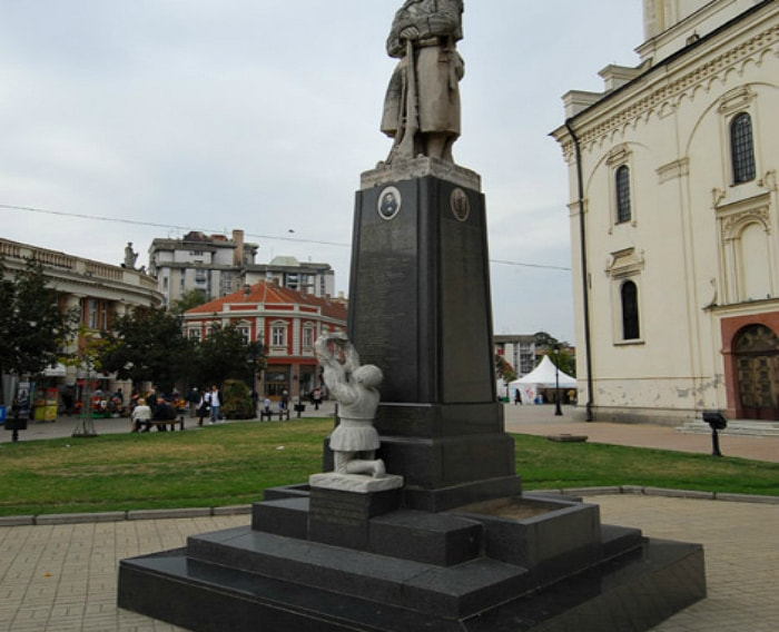 The Monument To Soldiers of WWI